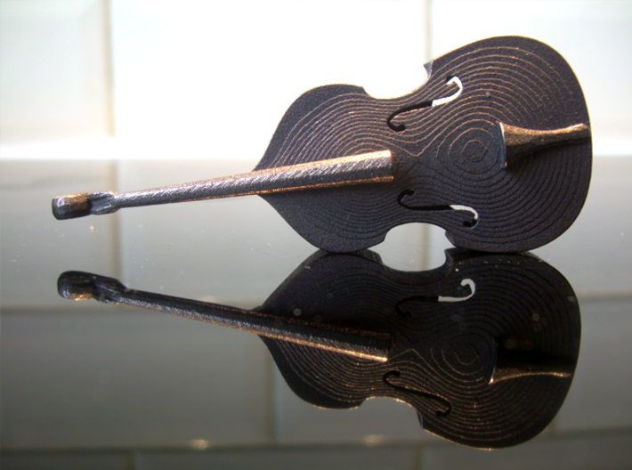Double Bass / Bottle Opener 3d printed