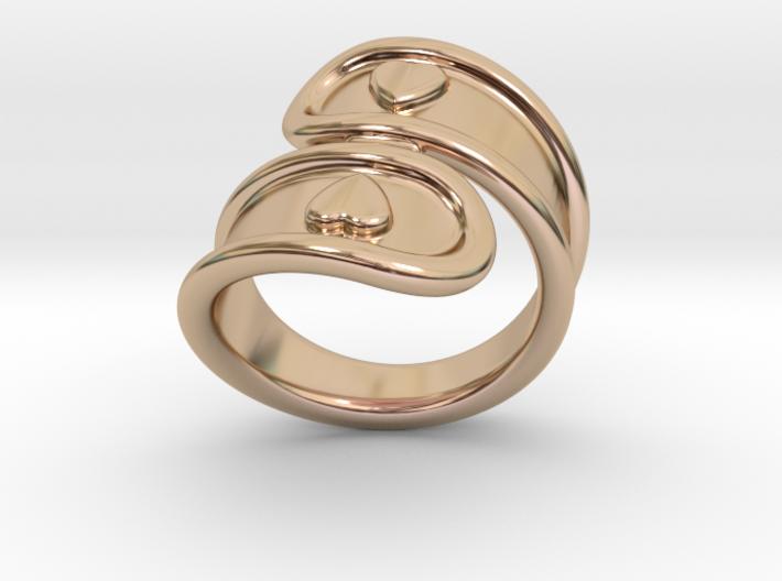 San Valentino Ring 24 - Italian Size 24 3d printed
