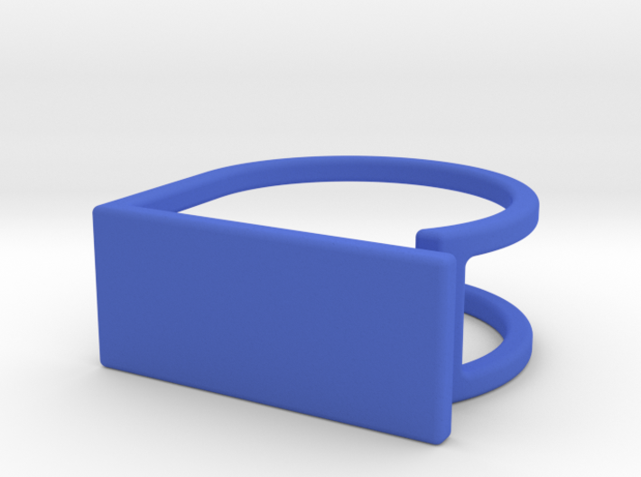 Ring with your drawing. Engraved. 3d printed