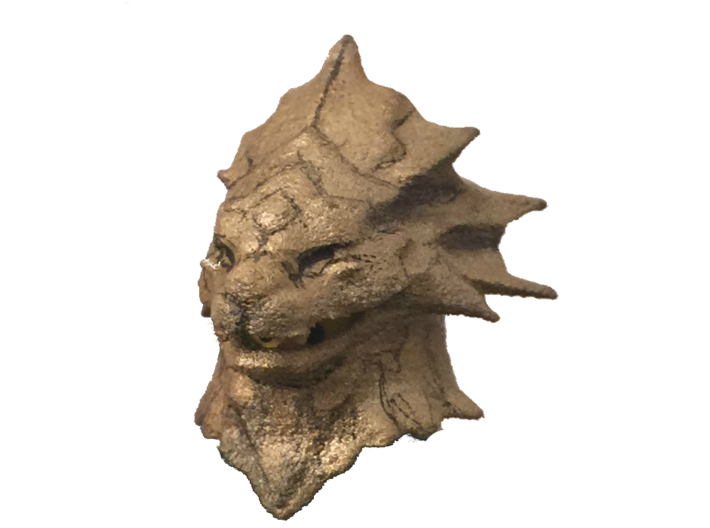 Dragon Slayer Ornstein Lego Helmet Dark Souls 3d printed