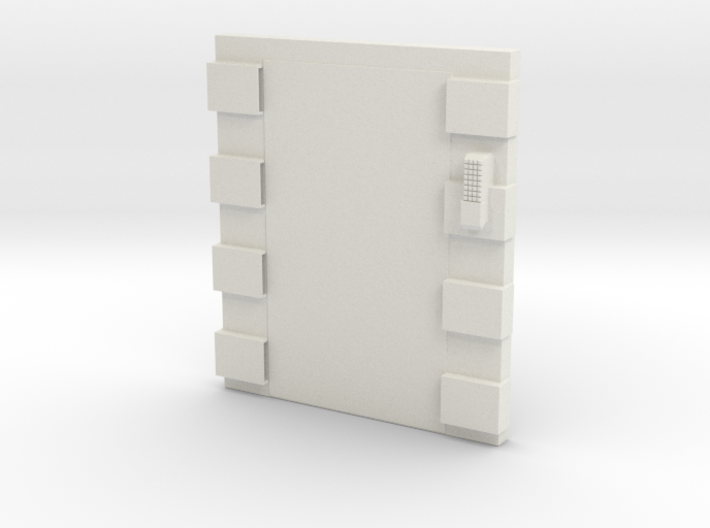 Elevator Shell (non opening) 3d printed