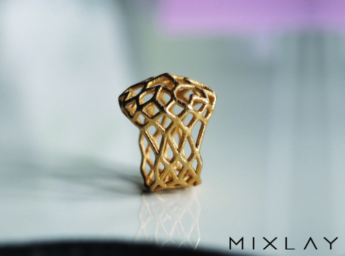 Ring Noble 18 3d printed