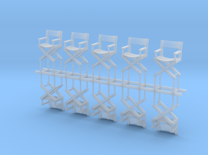 10 Fauteuils Cinema H0 3d printed