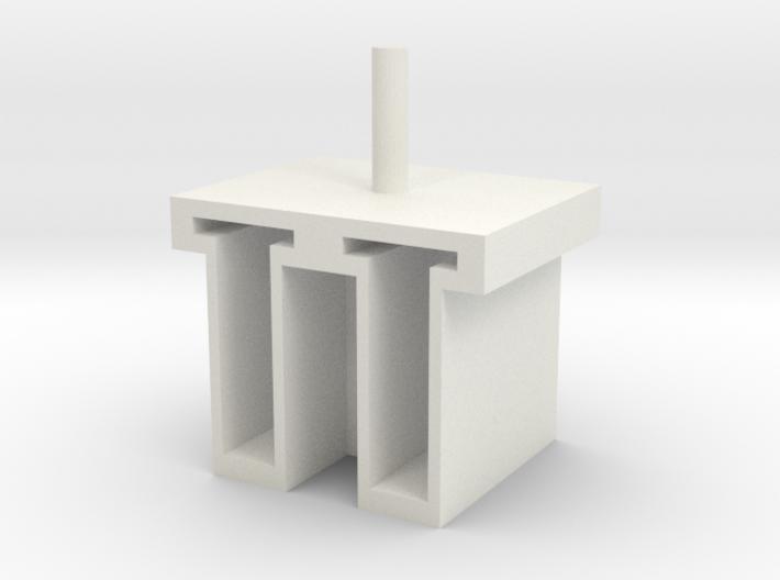 6-tube-homogenizer tube holder v.001 3d printed