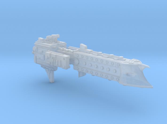 'BFG' Terran Scimitar Class Escort Ship 3d printed