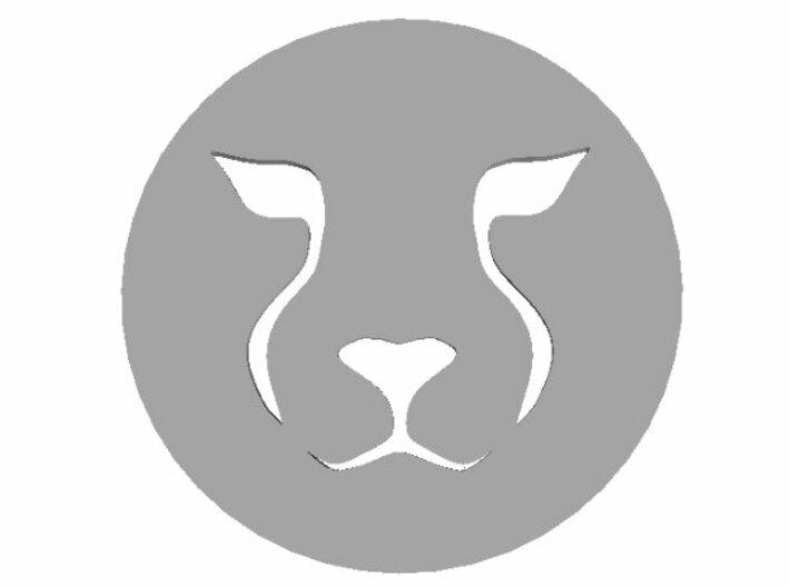 Cheetah Pendant 3d printed