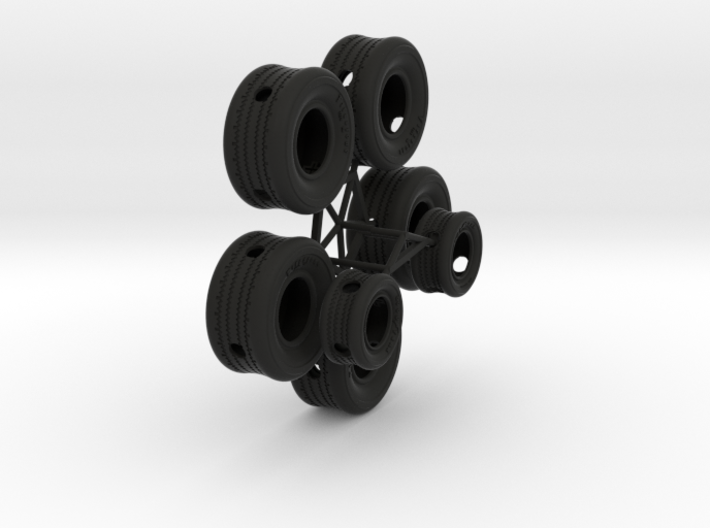 SEVEN Tugboat Tires 3d printed