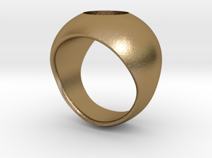 Hollow Ring Shell 3d printed