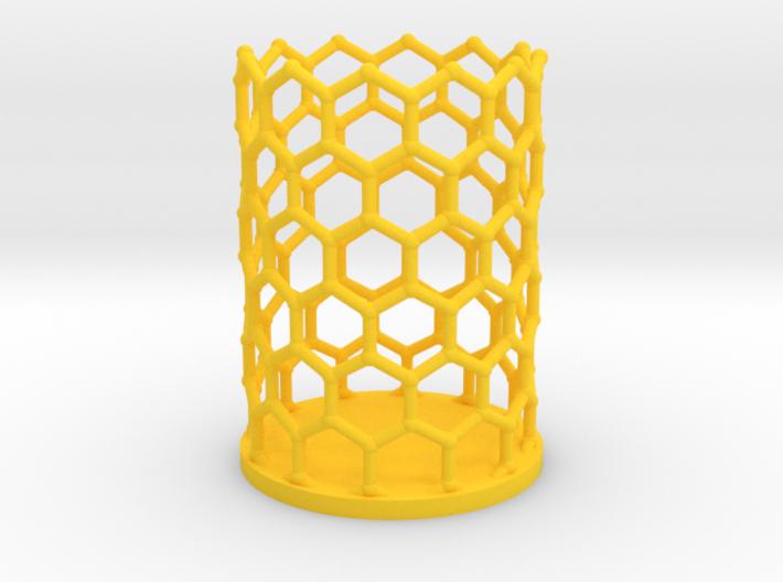 Pencilcup nanocarbon 3d printed