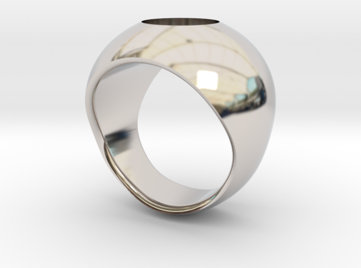 Hollow Ring 3d printed