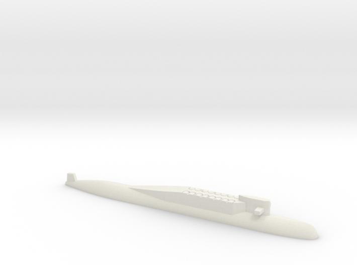 Delta Class SSBN, 1/1800 3d printed