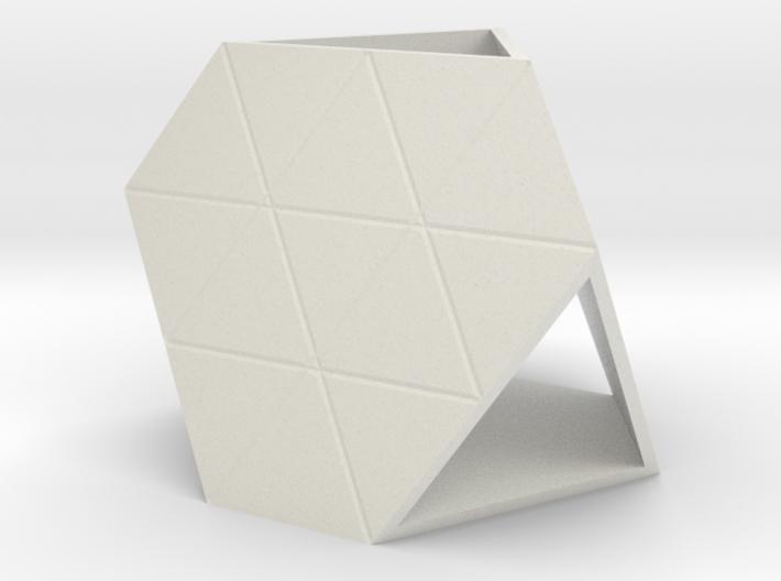 Hexagenic Tetrahedron 3d printed