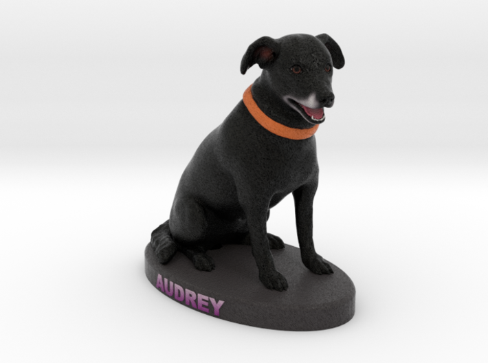 Custom Dog Figurine - Audrey 3d printed