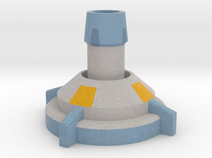 Stationary Mortar 3d printed