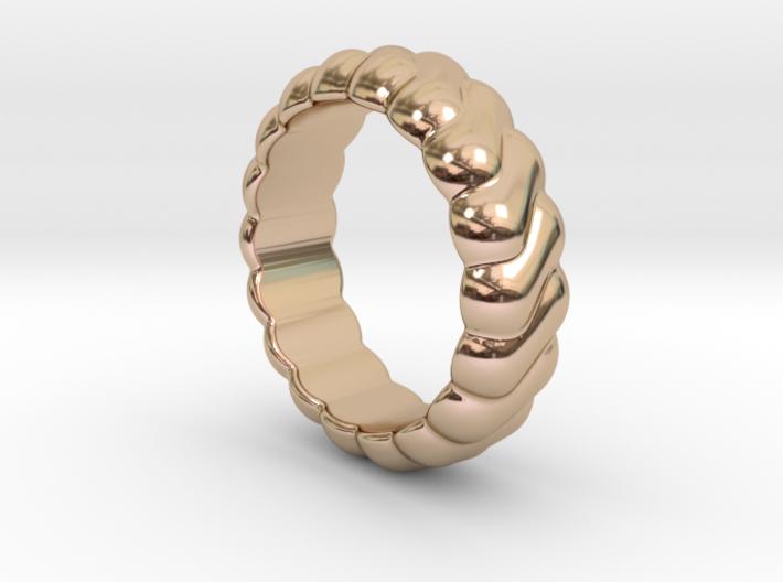 Harmony Ring 19 - Italian Size 19 3d printed