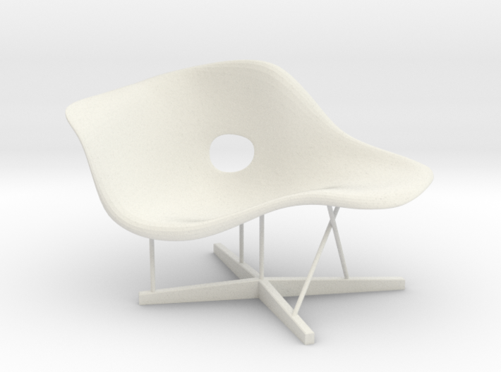 Designer chair - La Chaise Miniature 1:12  3d printed