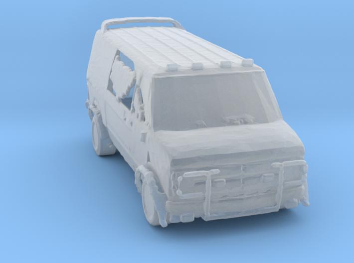 Wastelands Z-team van. 3d printed