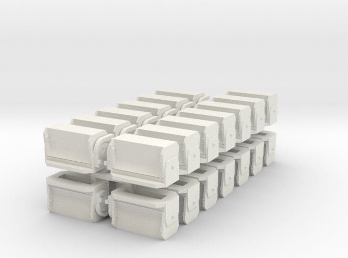 #3 Ballast Gate M-K - S Scale 3d printed