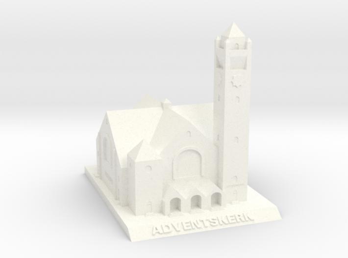 Adventskerk Model (6cm) 3d printed