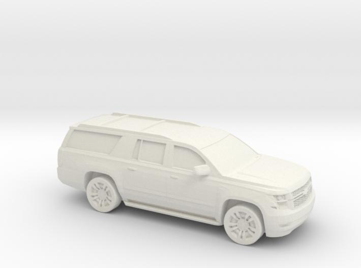 1/87 2015 Chevrolet Suburban 3d printed