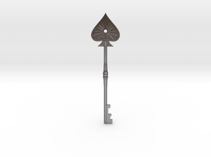 Resident Evil 2: Spade key 3d printed