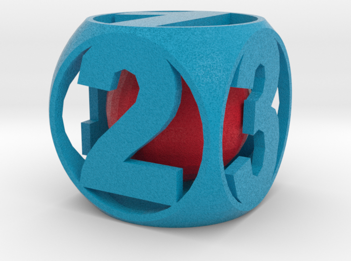 Crazy Dice 3d printed