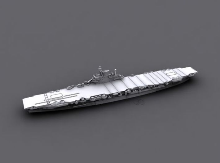 1/1800 HMS Indefatigable [1945] 3d printed Computer software render