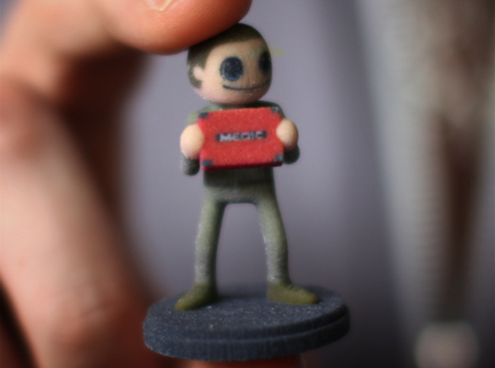 Job Hunters - Devon 3d printed