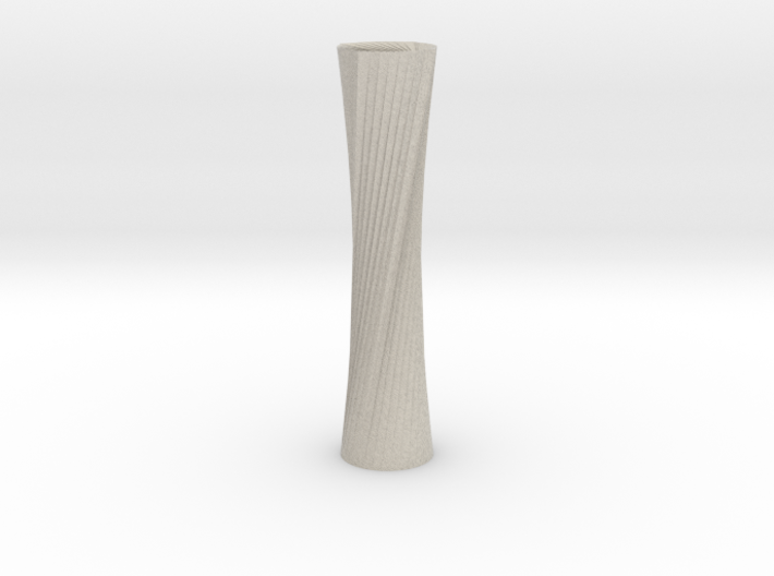 Twisted Candle Stick 3d printed