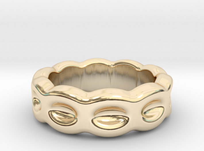 Funny Ring 32 - Italian Size 32 3d printed