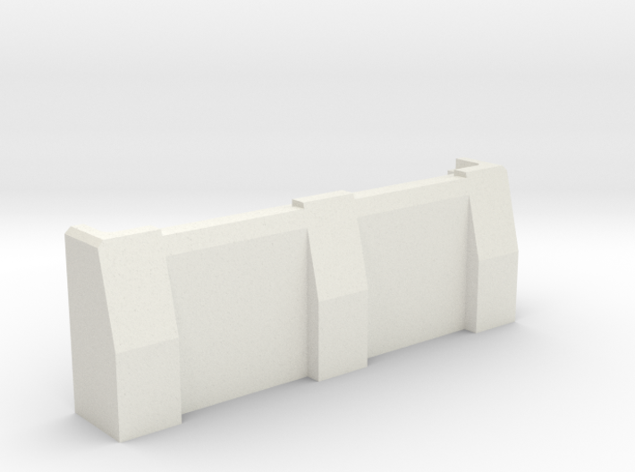 "3"" Ballistic Barrier 3d printed"
