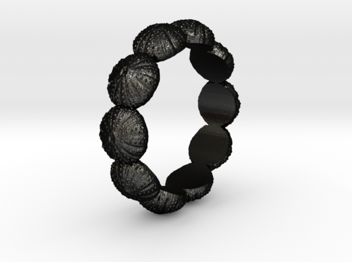 Urchin Ring 1 - US-Size 11 (20.68 mm) 3d printed