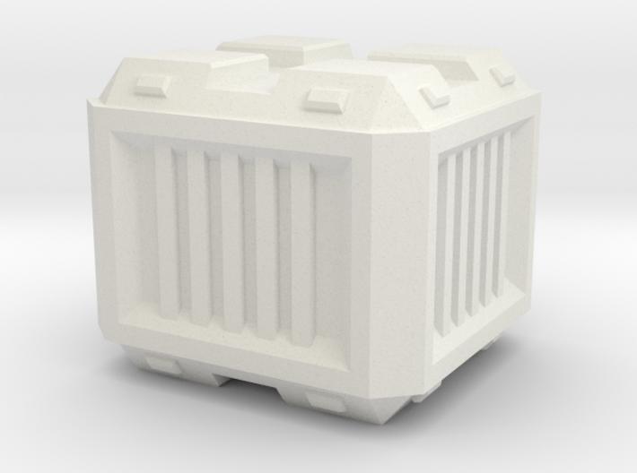 Modern/Sci-fi Small Crate 3d printed