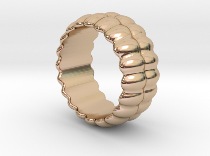 Mirror Ring 20 - Italian Size 20 3d printed