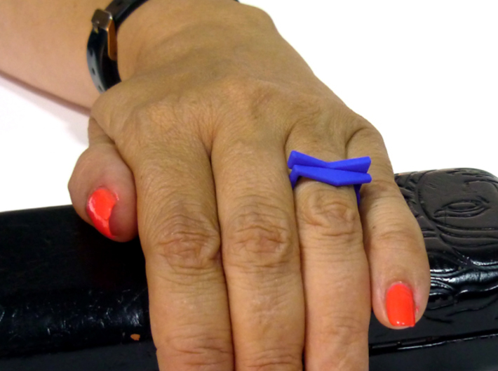 Adjustable ring. Basic set 6. 3d printed