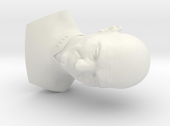 Picard Bust 3d printed