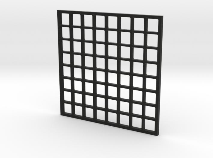 Wordclock Pixel Guard 3d printed
