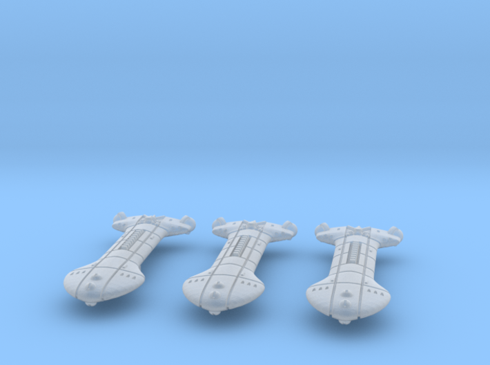 Rigellian (RPSA) ISW-3 Refit Destroyer Datagroup 3d printed