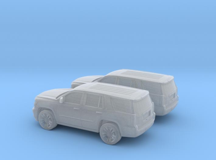 1/160 2X 2015 Chevrolet Tahoe 3d printed