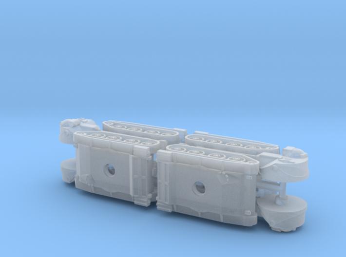 US 76mm Gun Tank T71 1/285 6mm 3d printed