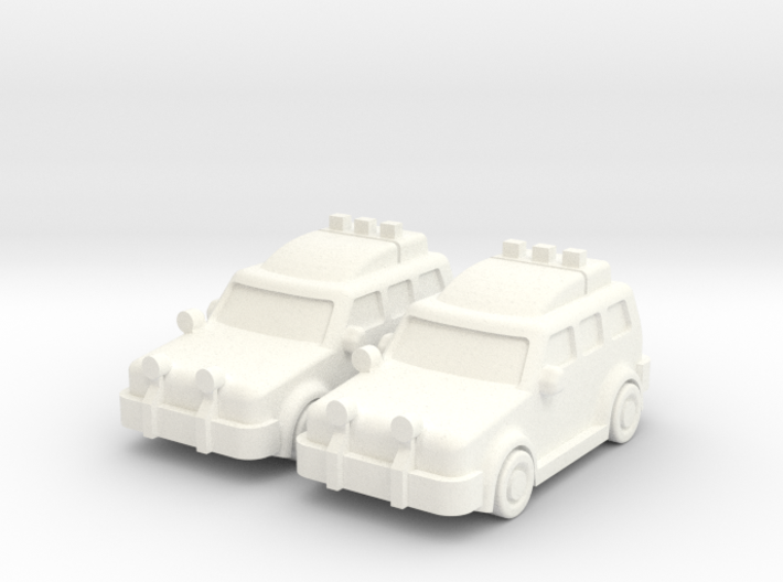 4x4 Cars (2 pcs) 3d printed