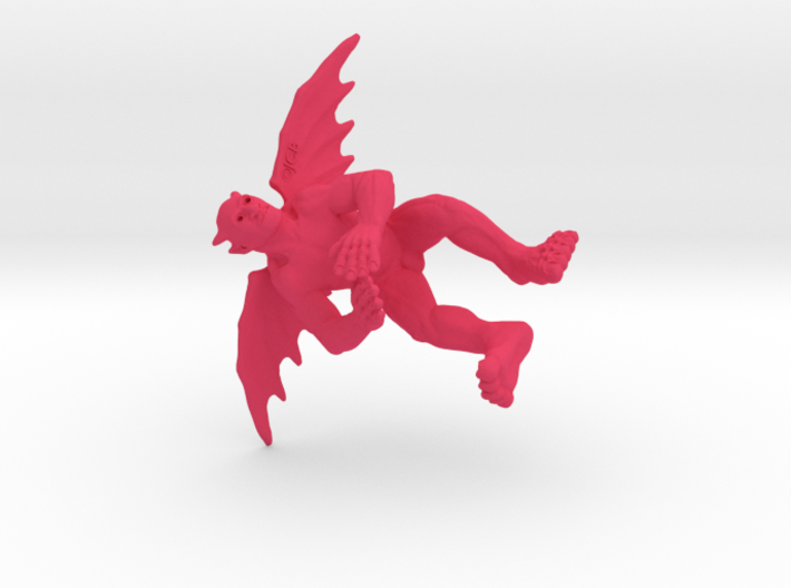 little flying devil SFW -- wings level 3d printed