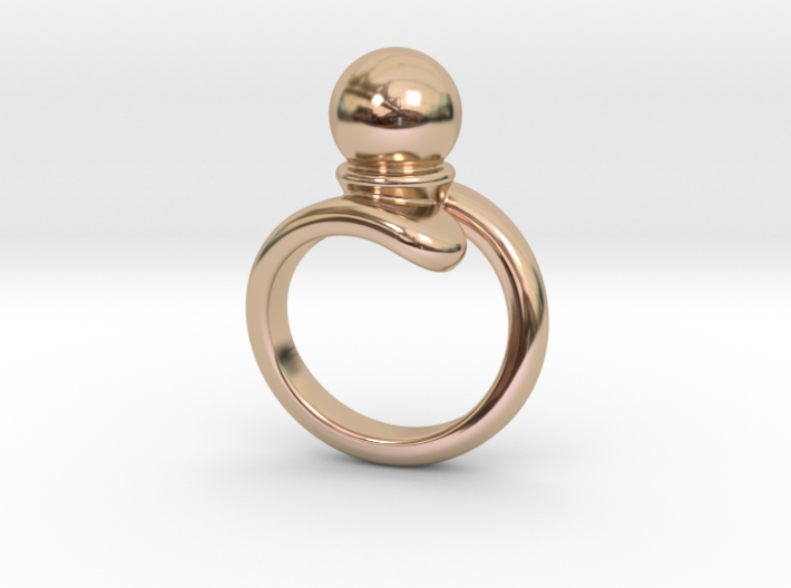 Fine Ring 18 - Italian Size 18 3d printed
