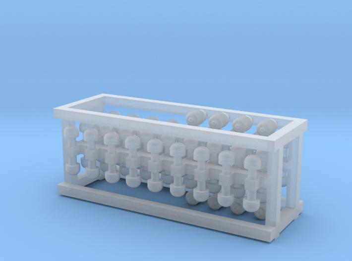 N Gauge DMU/EMU Generic Vents 3d printed