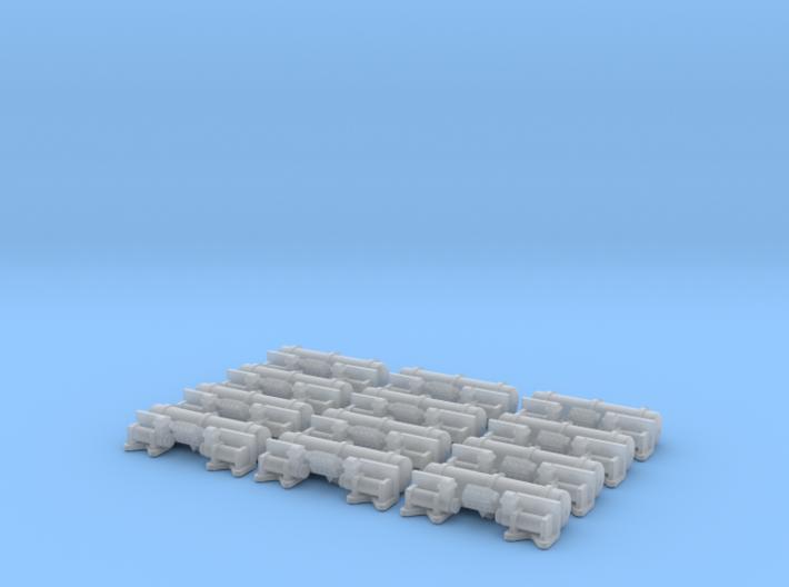 A Dozen Bulk Accuair Exo Mount System For 1/24 Sc 3d printed