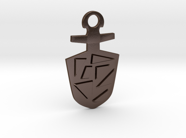 Doctor Who TARDIS Key Pendant Necklace/Key Charm 3d printed