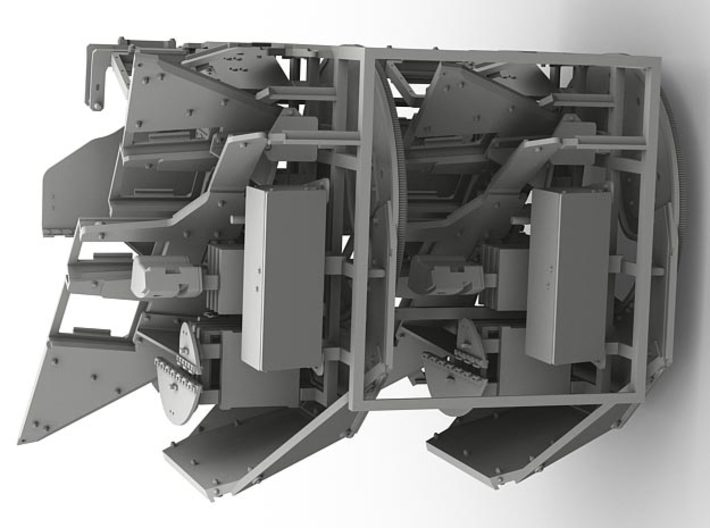 1/35 SPM-35-040-A MCATS turret x2 in set 3d printed