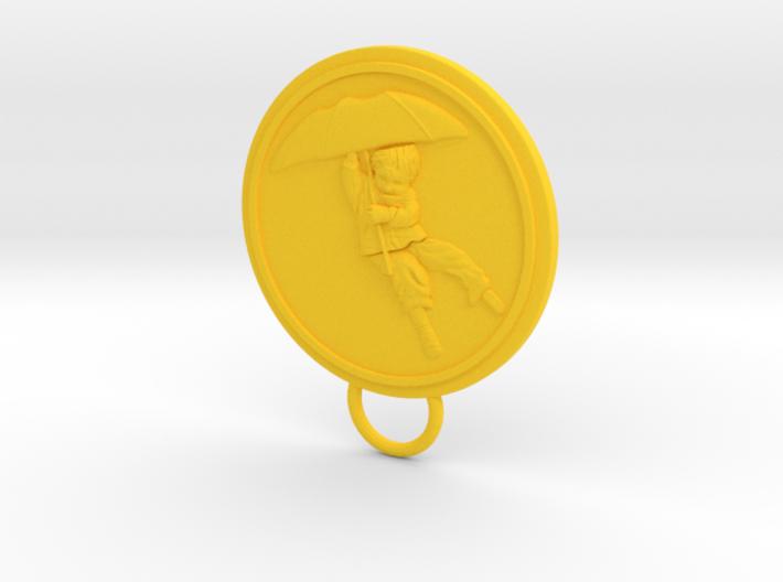 Umbrella Boy Keychain 3d printed