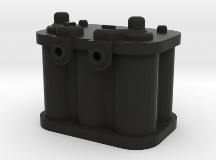 1/10 Scale Battery 2 3d printed