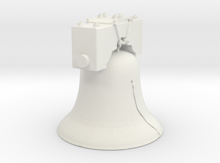 The Liberty Bell 3d printed
